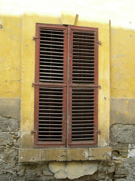 shuttered window, Nicosia