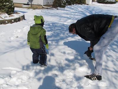 Building A Snowman Feb13