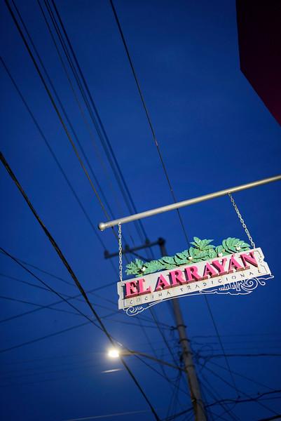 Dinner at Arrayan