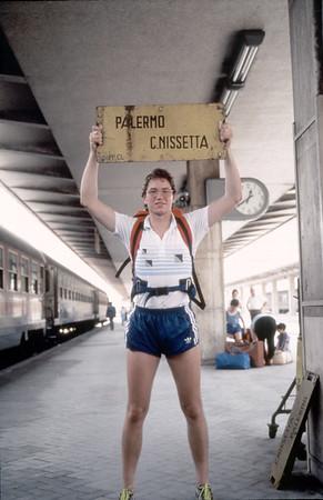 Abfahrt 1987 Gardasee - Palermo