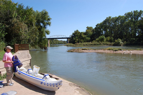 Journal Site 135: El Camino Real Paddling Trail, Colorado River, Bastrop, TX - Oct. 17, 2009