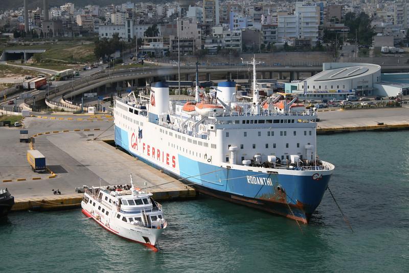 2008 - F/B RODANTHI laid up in Piraeus.