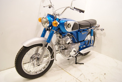 1968 Honda CD175 Sloper