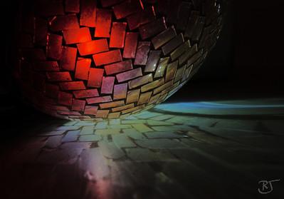 Glass Mosaic Ball