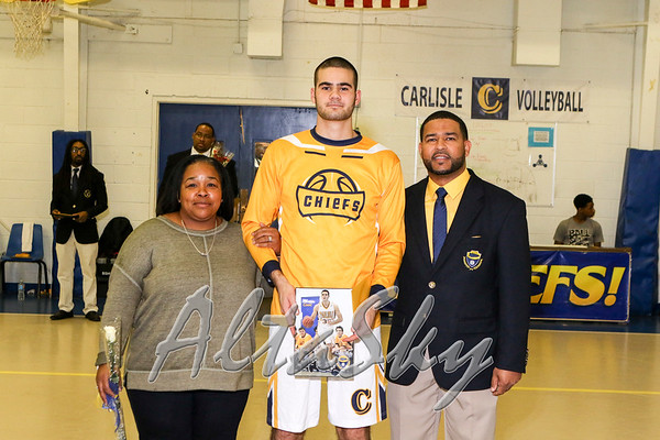 SENIOR DAY AND FANS 02-11-2017
