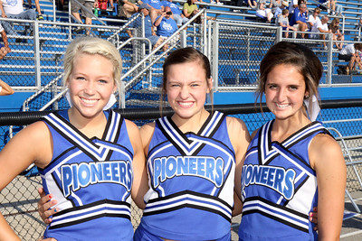 SK Cheerleaders vs Beechwood 8/24/12
