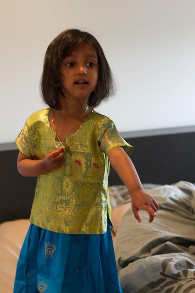 Riya turns 3!