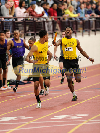 Boys' 4x200 Relay - 2014 MITS State Meet