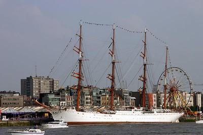 Tall Ships Race Antwerp 2004