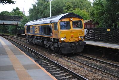 66717 4Z70 Doncaster -Trafford Park 7/9/15