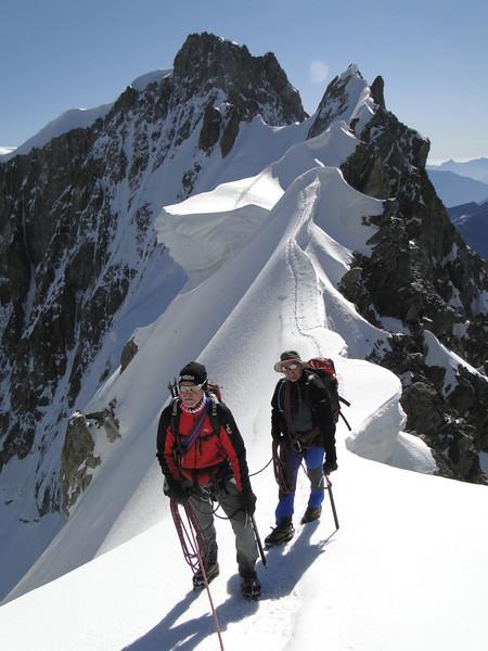 Alps, Mont Blanc, 2011