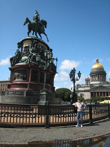 St. Isaac's Square, St. Nicholas I Monument