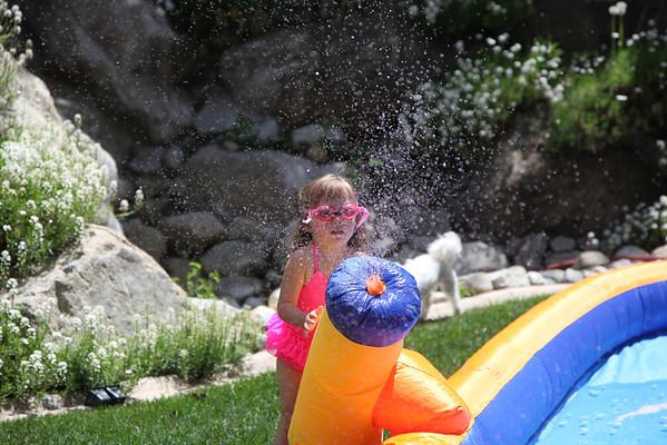 water slide fun! spring 2013