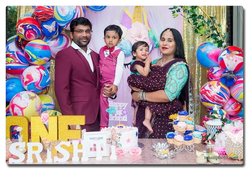 Srishti's 1st Birthday Party 2021