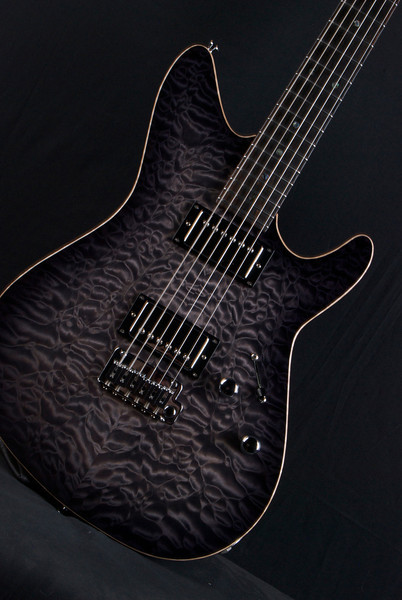 TurboJet Charcoal Burst, HH pickups