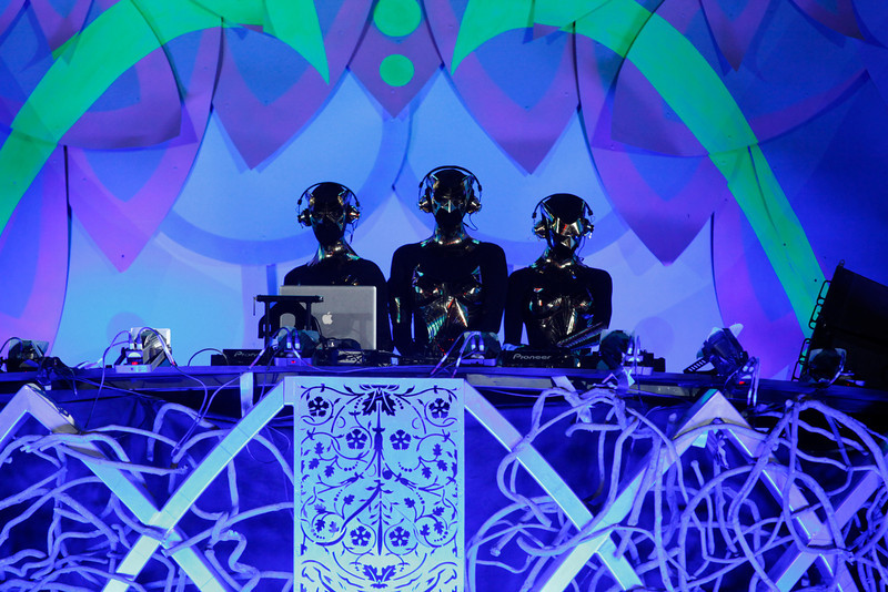 . Night Owl Experience performs at Kinetic Field at the Electric Daisy Carnival at the Las Vegas Motor Speedway in the early hours of Monday, June 24, 2013, in Las Vegas. (AP Photo/Las Vegas Review-Journal, Chase Stevens)