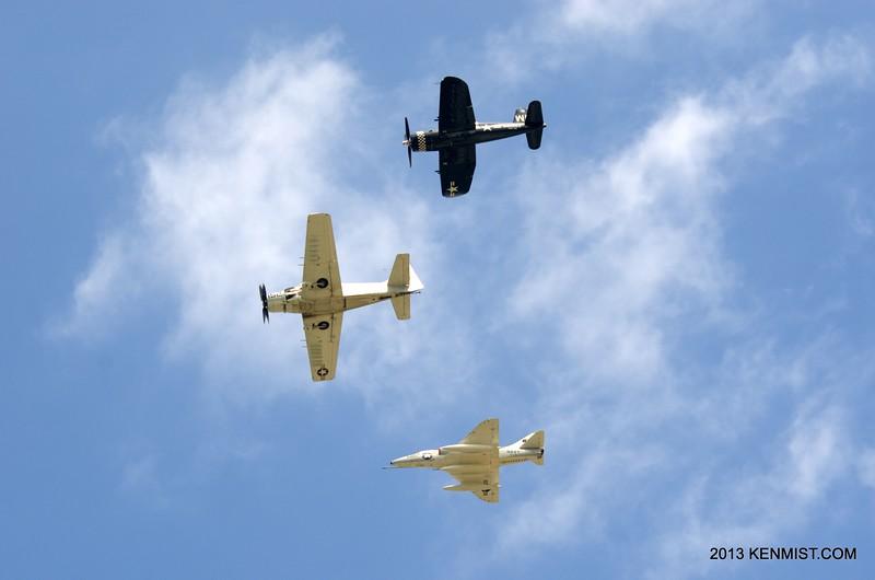Skyraider, Skyhawk and Corsair
