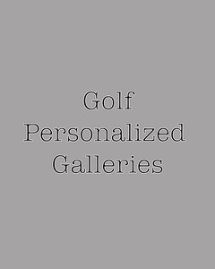 Golf Personalized Galleries