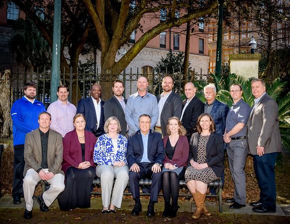 2018 - NASTT Board of Directors  Head Shots and Group