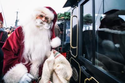 Julelystænding og julemanden