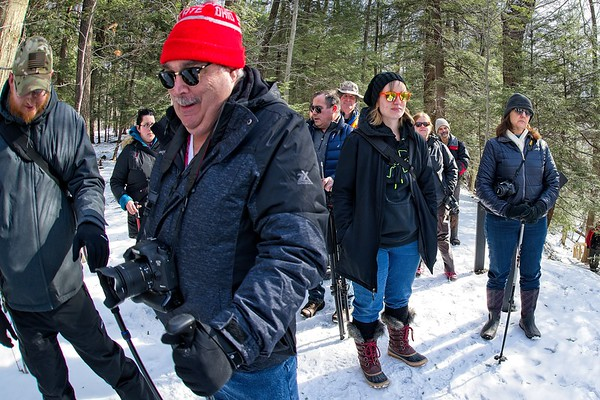 Penitentiary Glen Winter Hike 2019