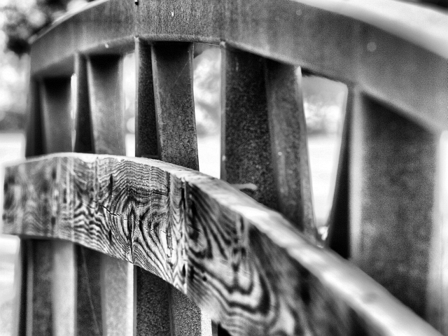 """Old Bridge Railing"" 