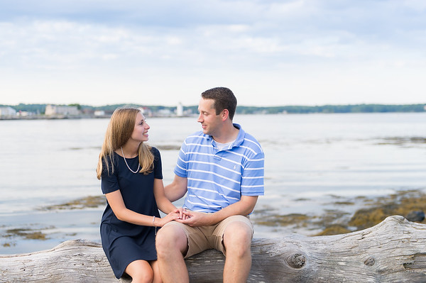 Portsmouth Engagement: Raina & Mike