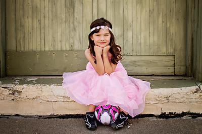 Rosa Belle pink hearts