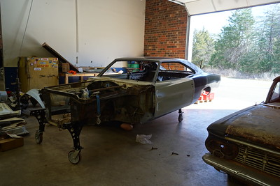 Larry S 68 Charger