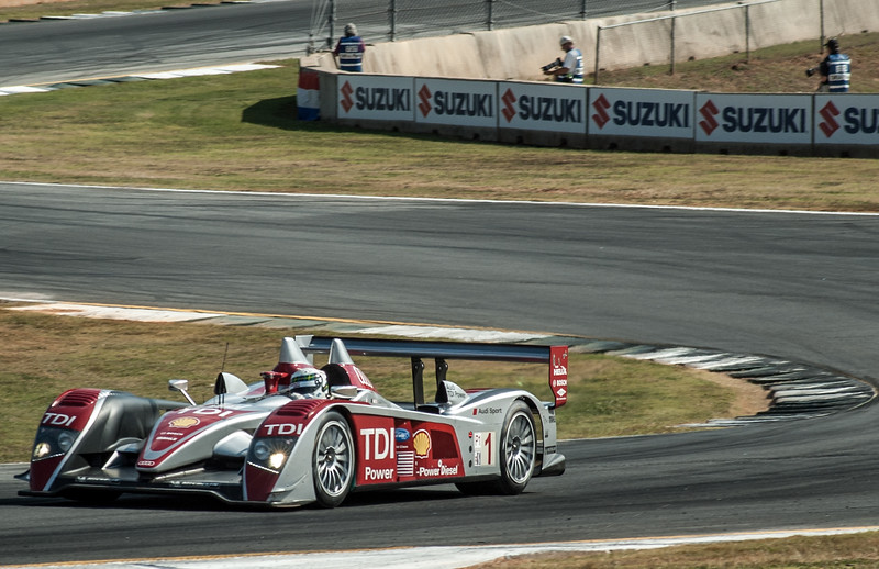 Alan McNish Audi R10