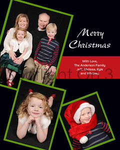 Sample Layout Holiday Cards