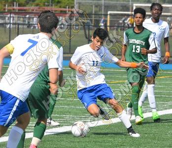 Attleboro - Dartmouth Boys Soccer 9-26-15