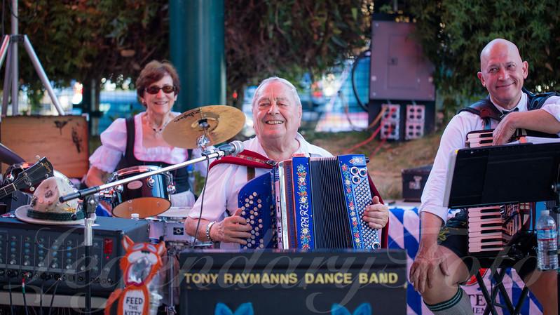 Tony Raymanns Dance Band at Oktoberfest 2015