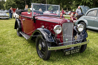 Shildon and Witton Castle Classic Cars July 2017