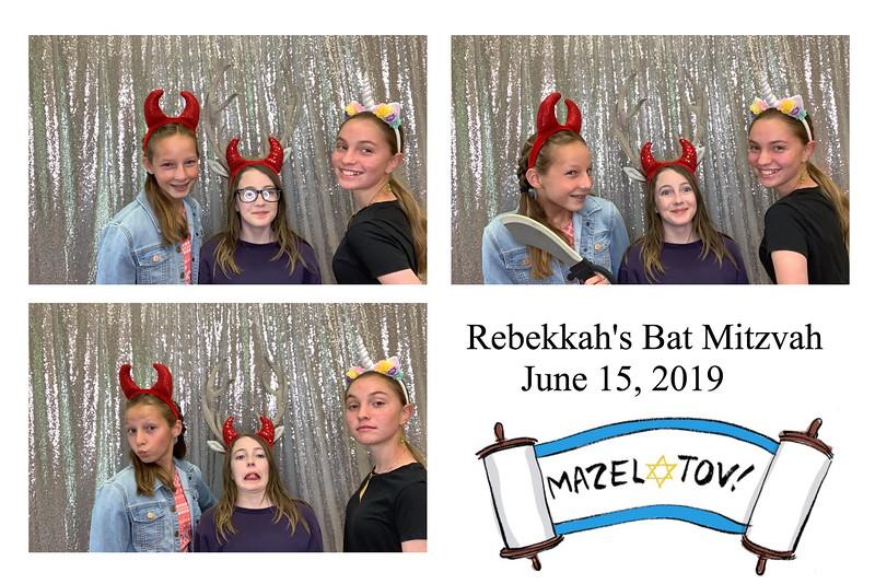 Rebekkah's Bat Mitzvah