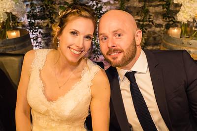 EVENING OF KRISTA & SCOTT'S WEDDING