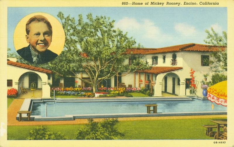 Home of Mickey Rooney