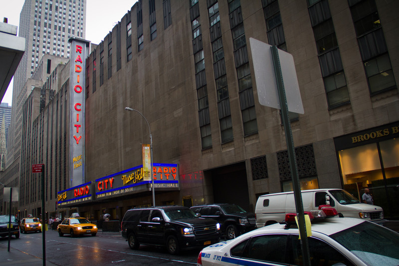 Microsoft is right next door to Radio City Music Hall