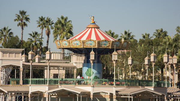 Disneyland Resort, Disney California Adventure, Paradise Pier, Silly Symphony Swings, Swing, Swings