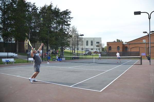 Tennis vs FUMA Faculty & Staff - Apr 17