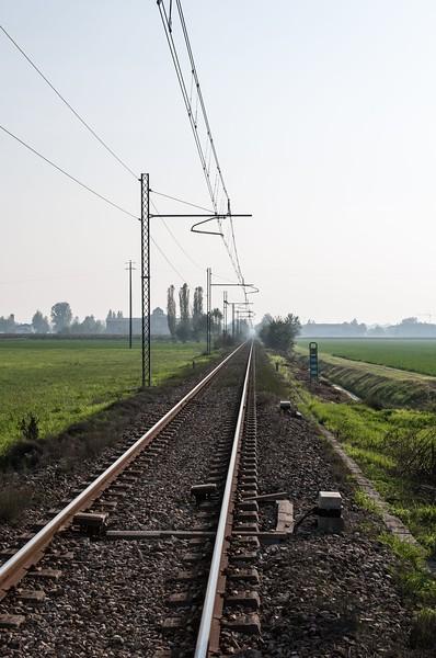 Rails - Pratofontana, Reggio Emilia, Italy - October 20, 2012