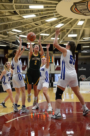 Taconic girls basketball vs. West Springfield at Hoop Hall Classic