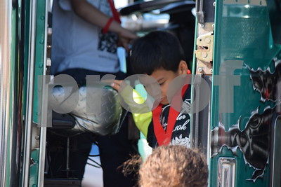 3/28/15 Junior League Of Tyler Hosts Inaugural Touch-A-Truck Event by Kevin Hampton