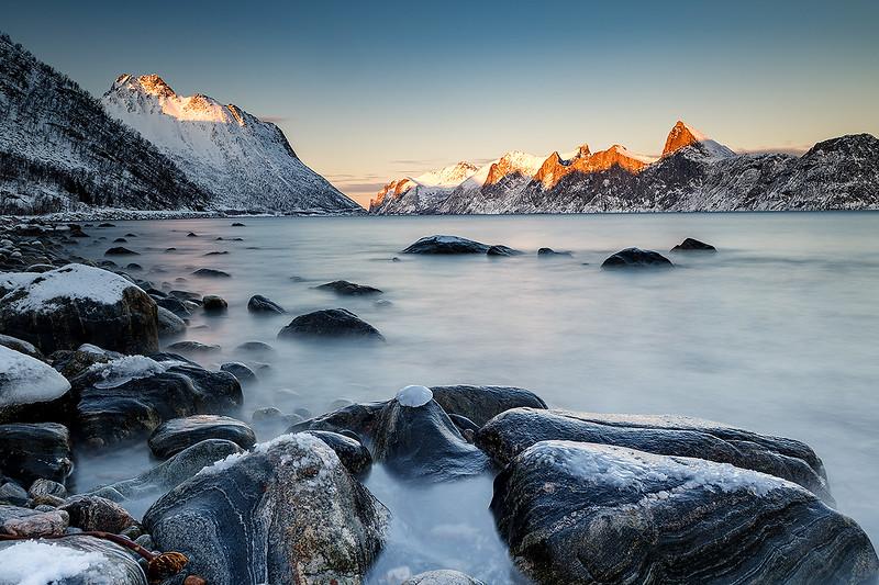 Fjord auf Senja