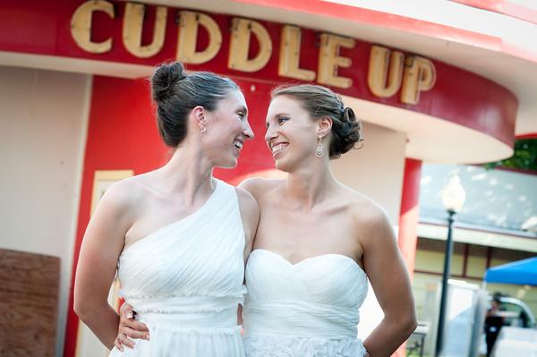 Rosie and Rachel - Glen Echo Park Wedding