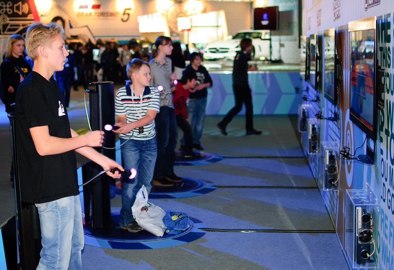 PlayStation Move at Igromir 2010