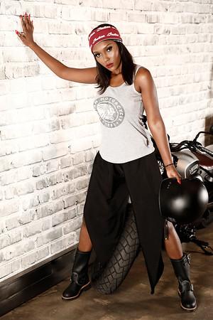 Indian Motorcycle Vixen - Mandy Kgobe