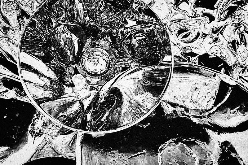 Beth Lipman, Closeup from Untitled (Still Life), 2018, 2019