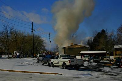 Ridge Road Apartment Fire