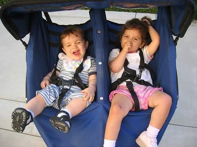 Lou y Clare y Cinco, 6/21/05